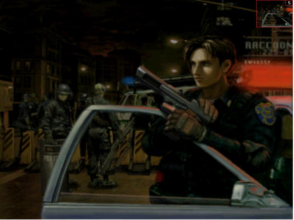 Resident Evil 2 [Dual Shock] [CD2] [U] ISO